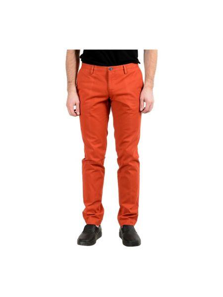 Pomarańczowe spodnie Hugo Boss