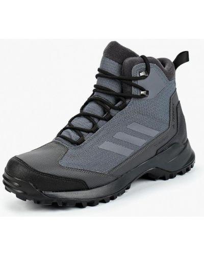 Треккинговые ботинки осенние кожаные Adidas