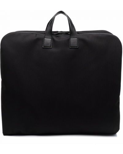 Черная сумка на молнии Corneliani