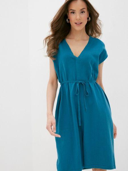 Бирюзовое платье Rodier