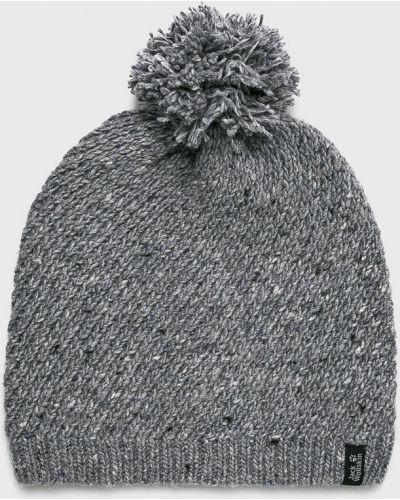 Зимняя шапка с помпоном из джерси Jack Wolfskin