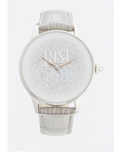Серые кварцевые часы Just Cavalli