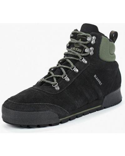 Ботинки осенние высокие замшевые Adidas Originals