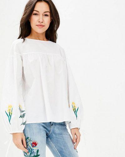 Блузка белая весенний Zeza