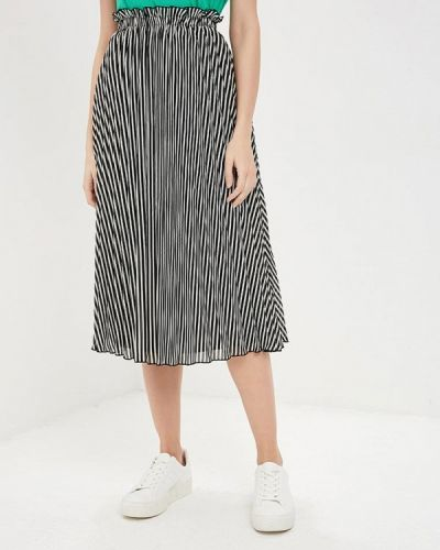 Плиссированная юбка черная индийский Only