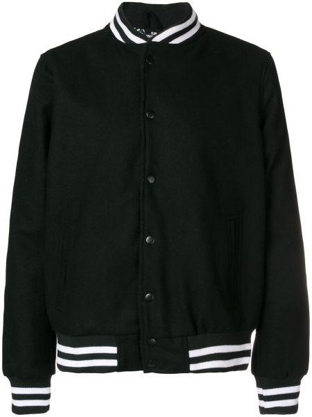 Нейлоновая черная куртка с манжетами с вышивкой Les (art)ists