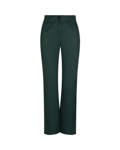 Прямые зеленые теплые брюки Termit