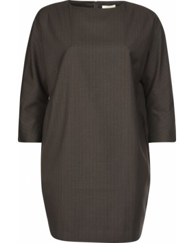Платье из вискозы - коричневое Ca' Vagan