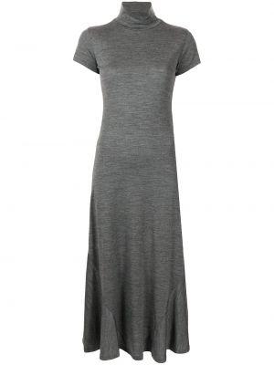 Шерстяное платье - серое Polo Ralph Lauren