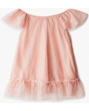 Розовое платье на торжество Defacto