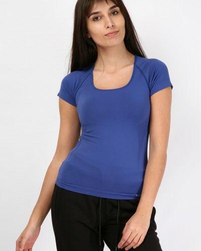 Синяя футбольная футболка Hummel