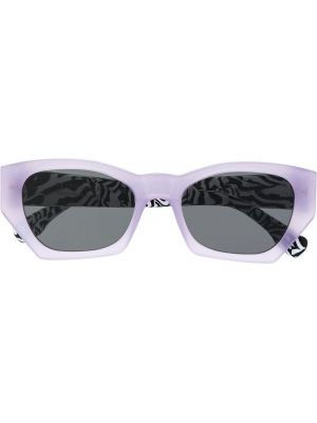 Czarne okulary z printem Retrosuperfuture