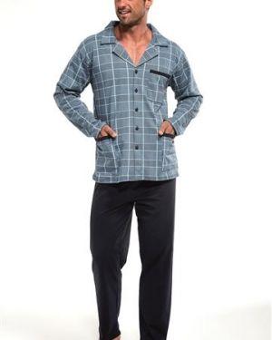 Piżama dwuczęściowa - granatowa Cornette