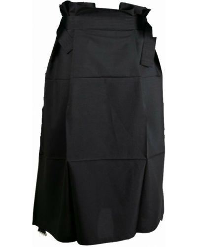 Spódnica - czarna Issey Miyake
