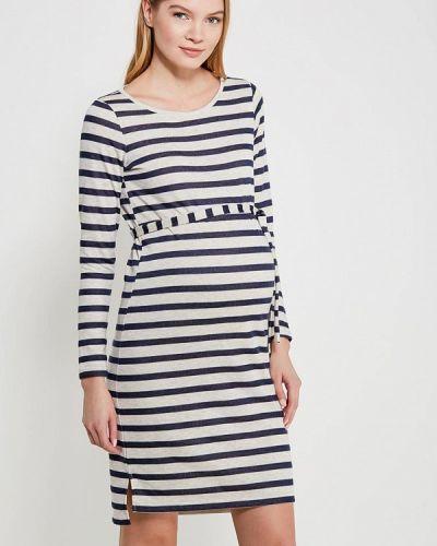 Белое платье для беременных Mama.licious
