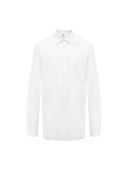 Французская белая платье-рубашка рубашка Vetements