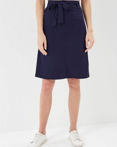 Синяя юбка весенняя Sela