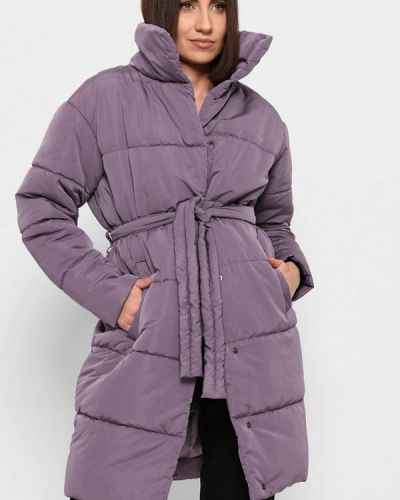 Фиолетовая демисезонная куртка Carica&x-woyz
