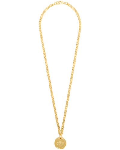Ожерелье металлический золотой Off-white