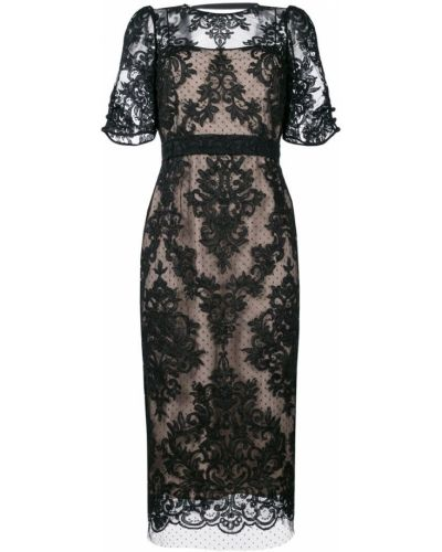 Платье миди мини с V-образным вырезом N21