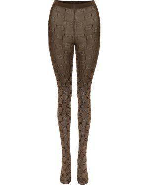 Rajstopy z obrazem z wzorem Gucci