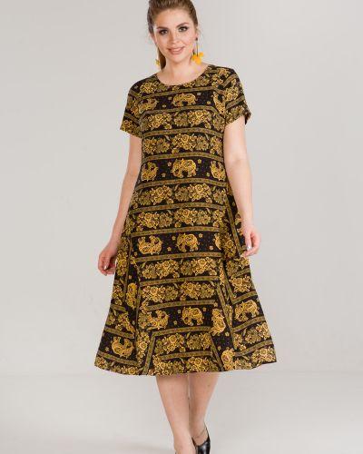 Летнее платье из штапеля платье-сарафан марита