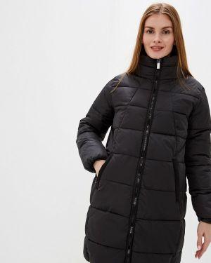Утепленная куртка демисезонная черная B.young