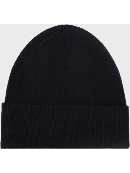 Кашемировая шапка - синяя Tommy Hilfiger