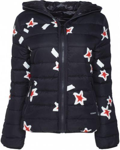 Куртка с капюшоном утепленная джинсовая Iceberg