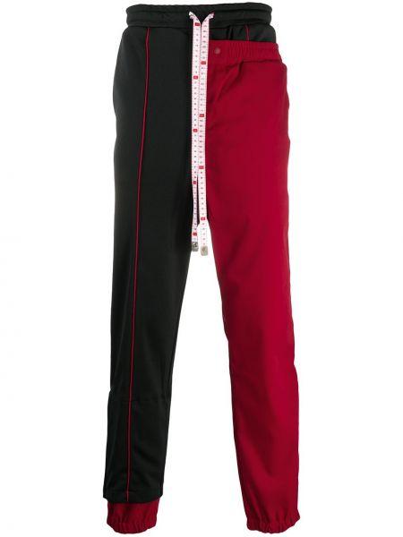 Спортивные черные спортивные брюки с поясом на шнурках Maison Mihara Yasuhiro