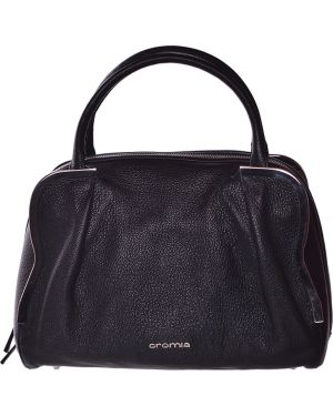 Кожаная сумка - черная Cromia