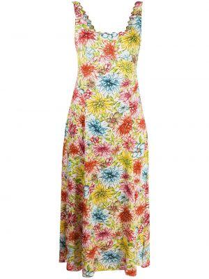 Расклешенное платье миди Alexa Chung