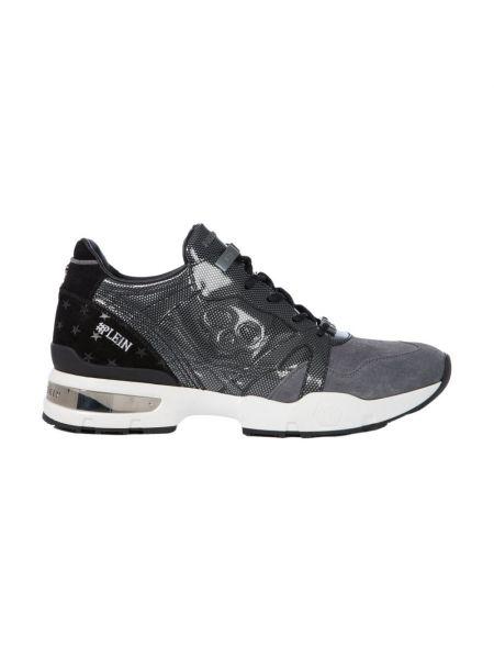 Szare sneakersy Philipp Plein