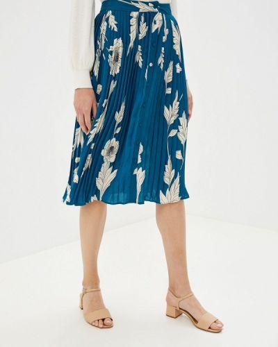Плиссированная юбка бирюзовый Incity
