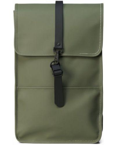 Zielony plecak casual Rains