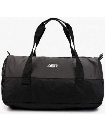 Спортивная сумка - черная Skechers