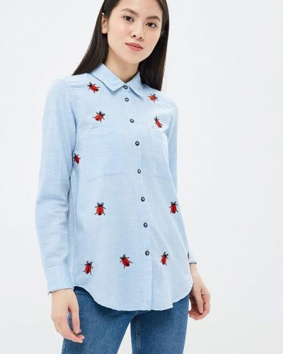 Голубая рубашка Glamorous