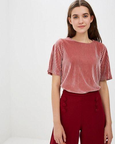 Розовая блузка с коротким рукавом Compania Fantastica