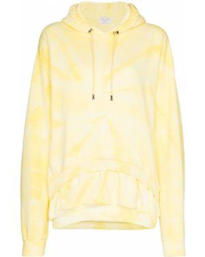 Bluza z kapturem z kapturem żółty Collina Strada