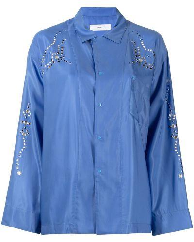 Синяя юбка макси длинная Toga Pulla