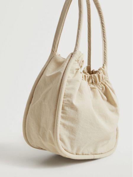 Beżowa torebka Mango