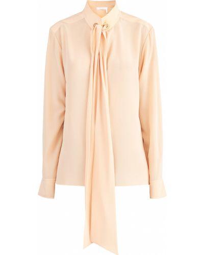 Блузка с кокеткой с пышными рукавами Chloé