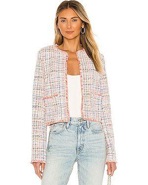 Пиджак твидовый с накладными карманами Bb Dakota