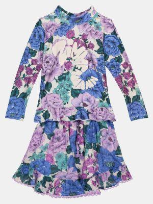 Bawełna bawełna fioletowy spódnica Zimmermann Kids