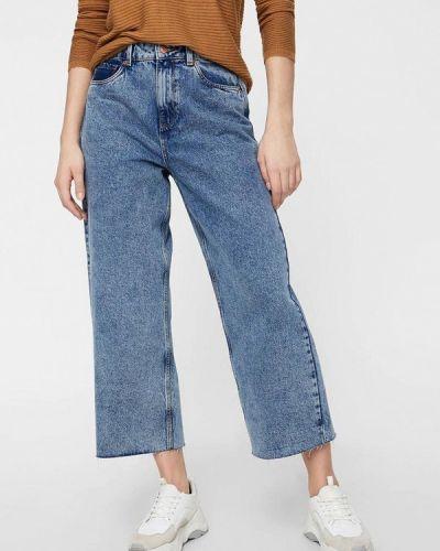 Широкие джинсы расклешенные синие Vero Moda