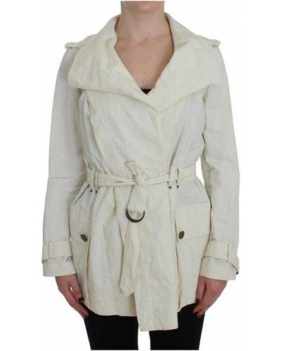 Biała kurtka Plein Sud