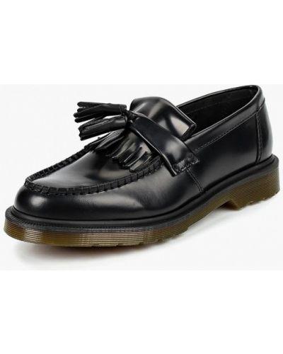 Черные лоферы Dr Martens