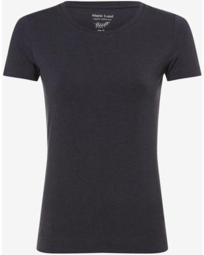 Niebieska t-shirt Marie Lund