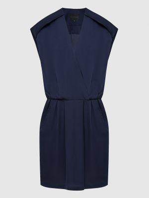 Платье мини - синее Hotel Particulier