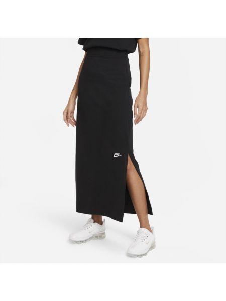 Spódnica maxi dzianinowa na co dzień Nike